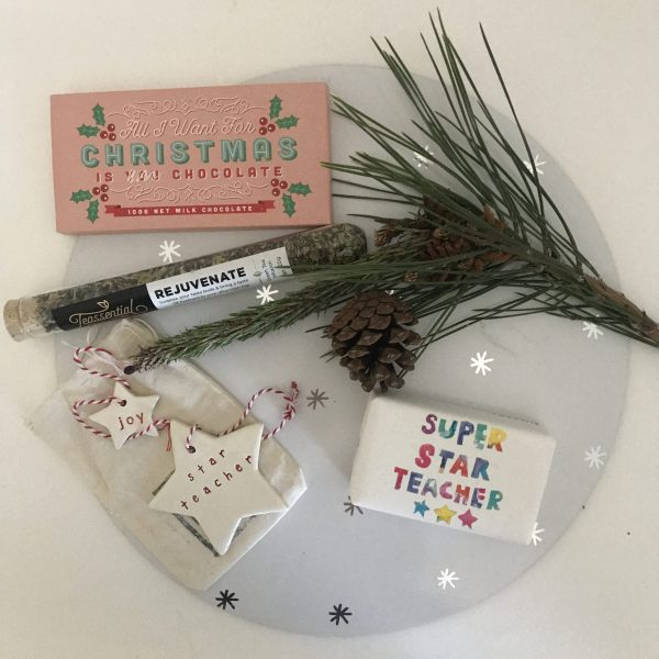 All I want for Christmas | Rejuvenate Teacher Christmas Gift Pot | Gift Solutions Corporate Small Business
