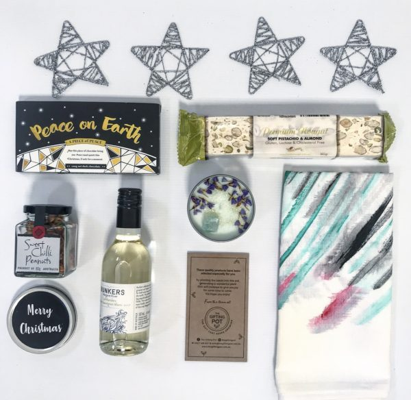 Happy Holidays Gifting Pot Christmas 2018 | Perth gift solutions | Corporate Business Client Gifts